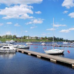 Lapenranta 3 viešbučiai su baseinais