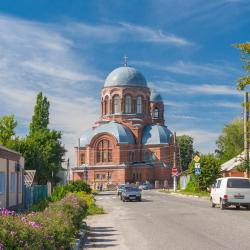 Okhtyrka 3 hotels with parking