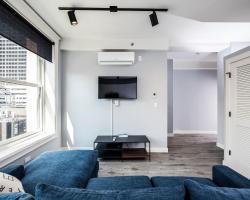 Maroon Apartment