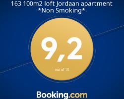 163 100m2 loft Jordaan apartment *Non Smoking*