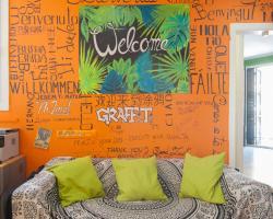 No Limit Hostel Graffiti