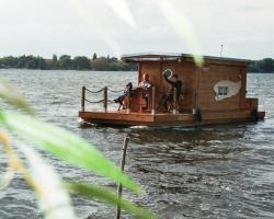 Hausboot am Plauer See
