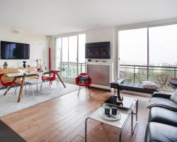 Buttes Chaumont Apartment View
