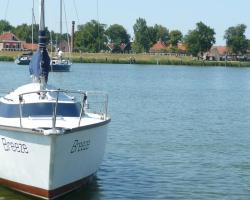 Zeilboot Aan Het IJsselmeer