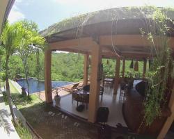 Terrace Ampels Villa