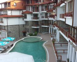 Apartment Balchik in Garden Palace Complex