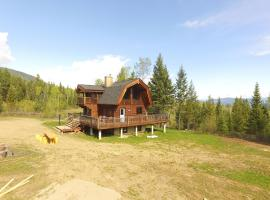 Best cozy log cabin in the Rocky Mountains, Invermere