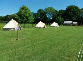 Bell Tents @ Long Acres, Lingfield