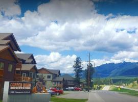Mountain View Radium Condo - Copper Horn Village, Radium Hot Springs (Spillimacheen yakınında)