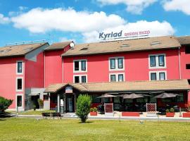 Kyriad Design Enzo Cannes-Écluse, Канн-Эклюз (рядом с городом Salins)