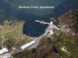 Harbour front apartments, Burtonport (Near Arranmore Island)