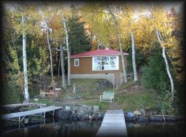 Waterfront Cabin, Phelps (рядом с регионом Ski Brule)