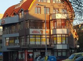 Hotel Africa, Haskovo (Tsareva Polyana yakınında)