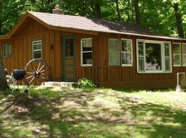 Perch Inn Cabin, Phelps (рядом с регионом Ski Brule)
