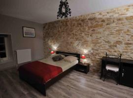 Les Chambres d'Eponine, Saints-Geosmes (рядом с городом Aprey)