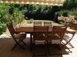 Appartement rez de jardins proche lac et thermal, Thonon-les-Bains