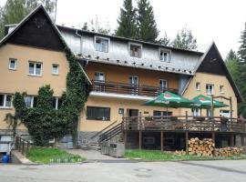 Hotel Gaudeamus, Milovy (České Křižánky yakınında)