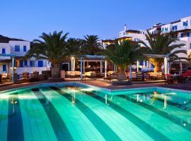 Alexandros Hotel, Платис-Ялос (рядом с городом Chrisopigi)