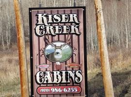 Kiser Creek Cabins, Cedaredge