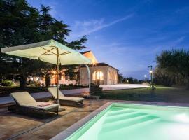 Villa Tergi Luxury Marche, Monte Canepino (Potenza Picena yakınında)