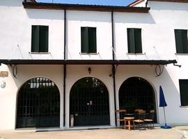 Villa Gaudio, Ponte San Nicolo (Sant'Angelo di Piove di Sacco yakınında)