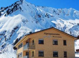 Alpenpanorama Konzett Faschina, Fontanella, Vorarlberg, Österreich, Faschina