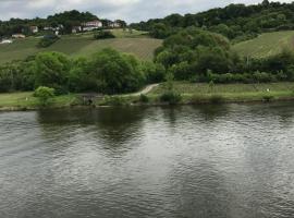 Appartement vue sur la Moselle, Wormeldange (рядом с регионом Гревенмахер)
