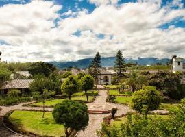 Hosteria Hacienda Pueblo Viejo, Atuntaqui (Hacienda La Olimpia yakınında)
