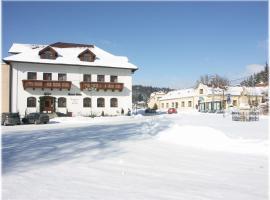 Hotel Stara Skola, Sloup (Ostrov u Macochy yakınında)
