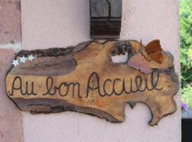 Au Bon Accueil Le Coquelicot