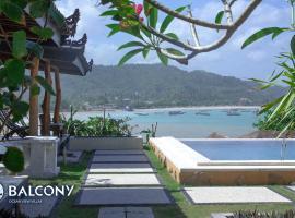 Balcony Ocean View Villas
