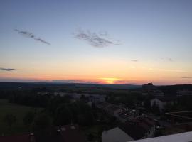Alb-Rim View Penthouse, Metzingen (Grafenberg yakınında)