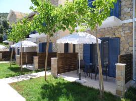 Ilianthos Apartments & Rooms, Mikros Gialos (рядом с городом Sivota)
