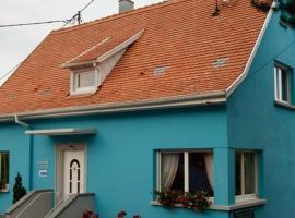 La Maison Bleue, Dieffenbach-au-Val (рядом с городом Thanvillé)