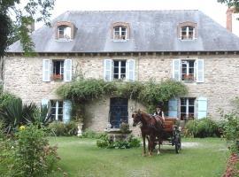 Manoir de la Peignie, Merdrignac (рядом с городом Illifaut)