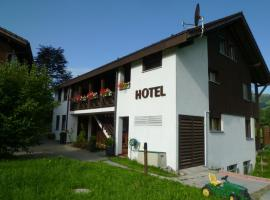 Hotel Bahnhof, Giswil (Bürglen yakınında)