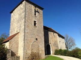 Guesthouse Chateau Cordiron, Burgille (рядом с городом Charcenne)