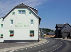 Gasthof Thueringer Wald, Reichmannsdorf (Gräfenthal yakınında)