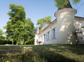 La demeure Bournac, Civrac-en-Médoc (рядом с городом Saint-Christoly-Médoc)