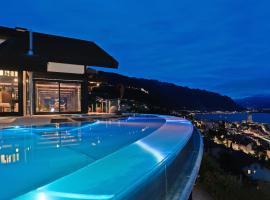 Montreux Deck, Montreux (Le Châtelard yakınında)
