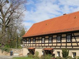 FEWO-im-sanierten-Fachwerkhaus, Müglitztal (Seitenhain yakınında)