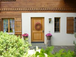 Chalet Silberdistel, Gstaad (Lauenen yakınında)