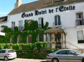 Grand Hotel de l'étoile, Courtenay (рядом с городом La Belliole)