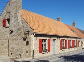 Chambres d'hôtes du chemin de la maison blanche, West-Cappel (рядом с городом Quaëdypre)