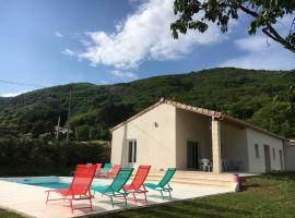 Villa 2 - Thueyts, Thueyts (рядом с городом Montpezat-sous-Bauzon)