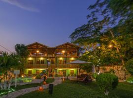 Casa Hunahpu Apart-Hotel, Flores (рядом с городом Santa Ana)