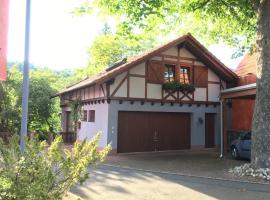 Ferienwohnung am Main, Wertheim (Mondfeld yakınında)
