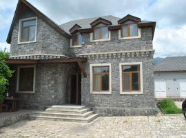 Pictorial Villa at Qabala, Nohurqışlaq