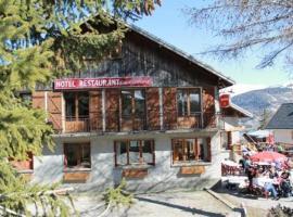 Hotel restaurant La Gamelle, Albane (рядом с городом Montricher-le-Bochet)