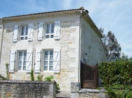le petit gite de ma Cagouille, Montpellier-de-Médillan (рядом с городом Rétaud)
